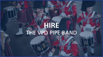 Vancouver Police Pipe Band | Official Band of the City of Vancouver