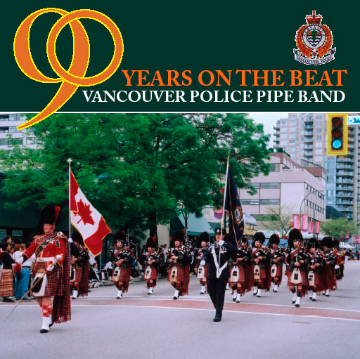 Vancouver Police Pipe Band - 2004