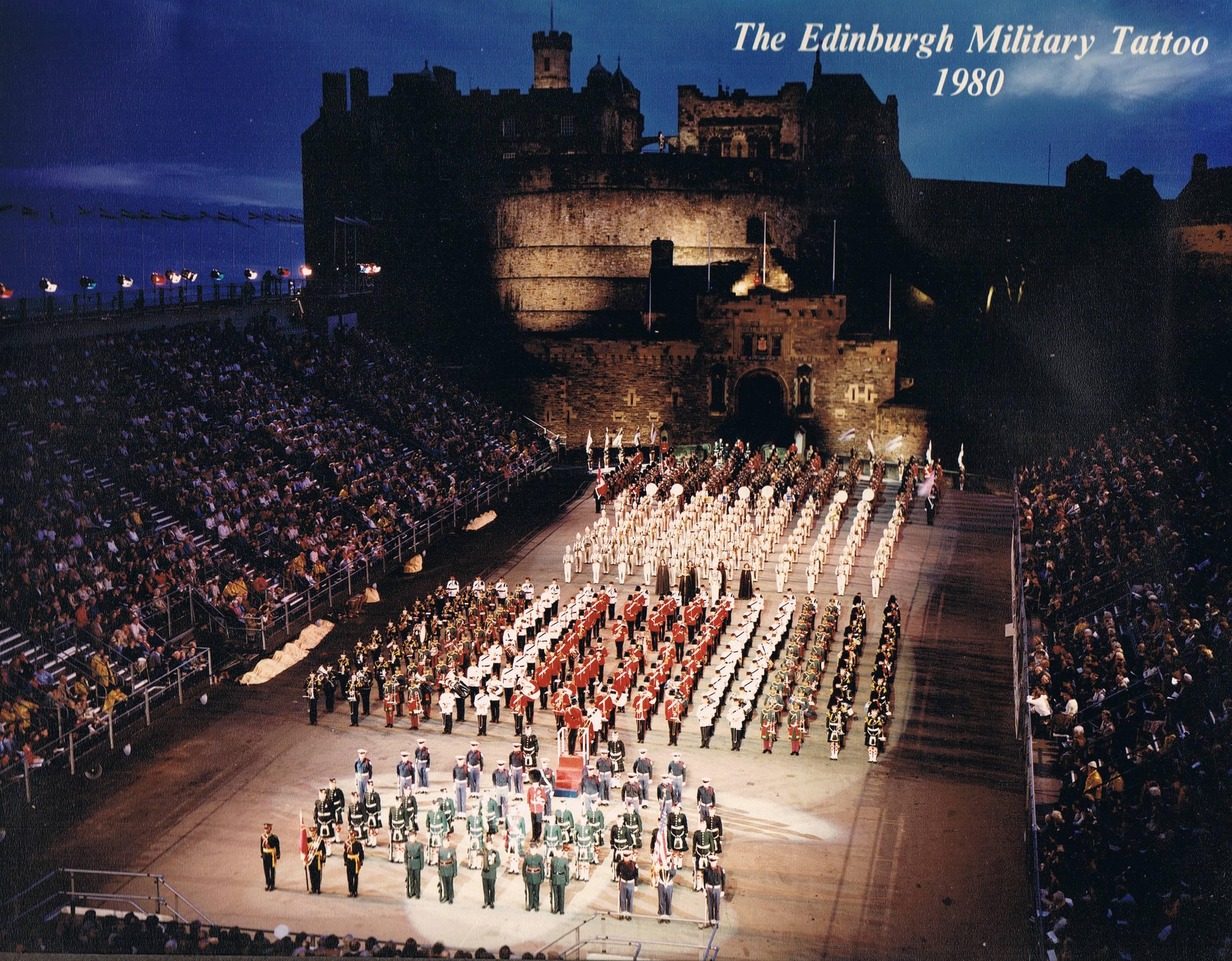 Top edinburgh tattoo 1978 images for pinterest tattoos for Scotland military tattoo